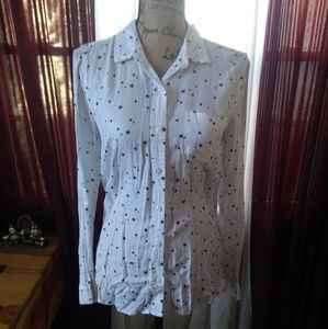 Star Button-up Blouse